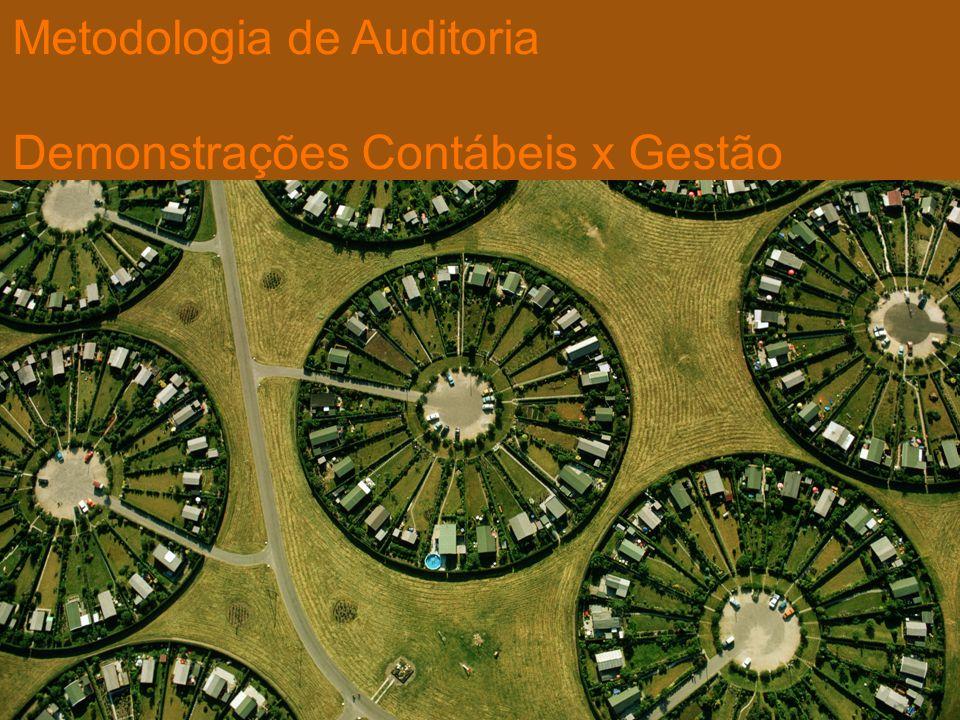 Metodologia de Auditoria Demonstrações Contábeis x Gestão