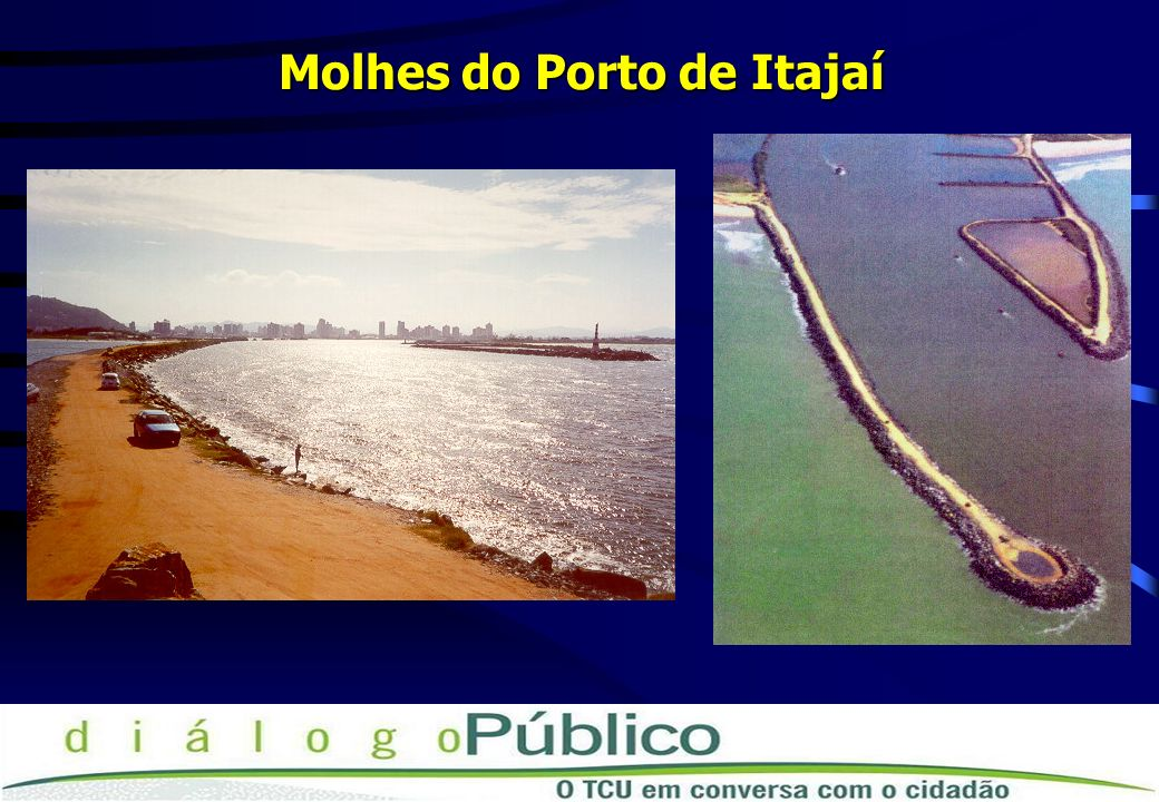Molhes do Porto de Itajaí