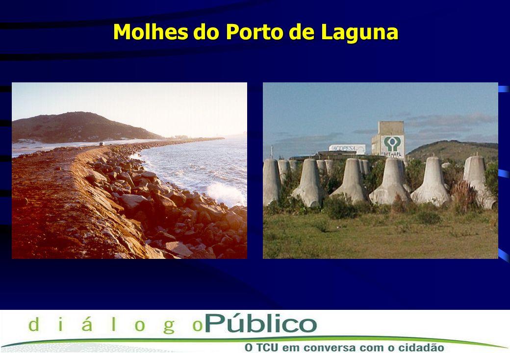 Molhes do Porto de Laguna