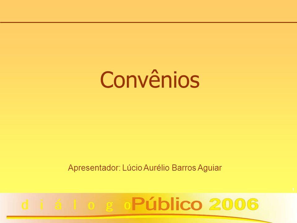 Apresentador: Lúcio Aurélio Barros Aguiar