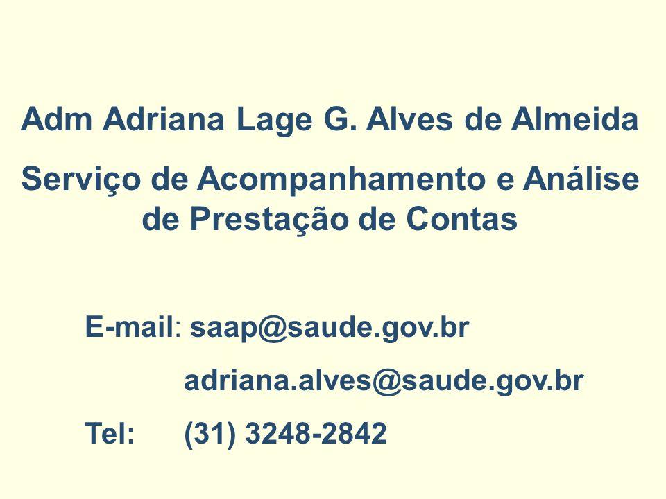 Adm Adriana Lage G. Alves de Almeida