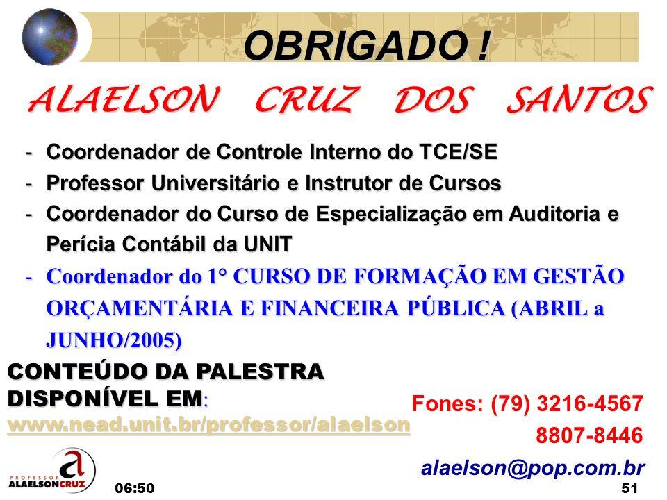 ALAELSON CRUZ DOS SANTOS