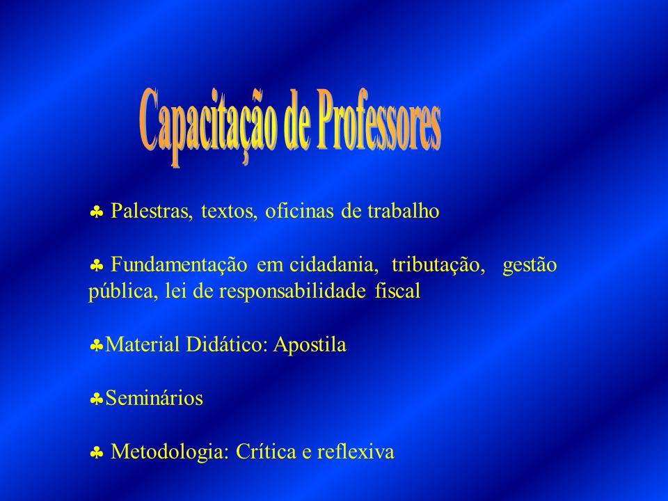 Capacitação de Professores
