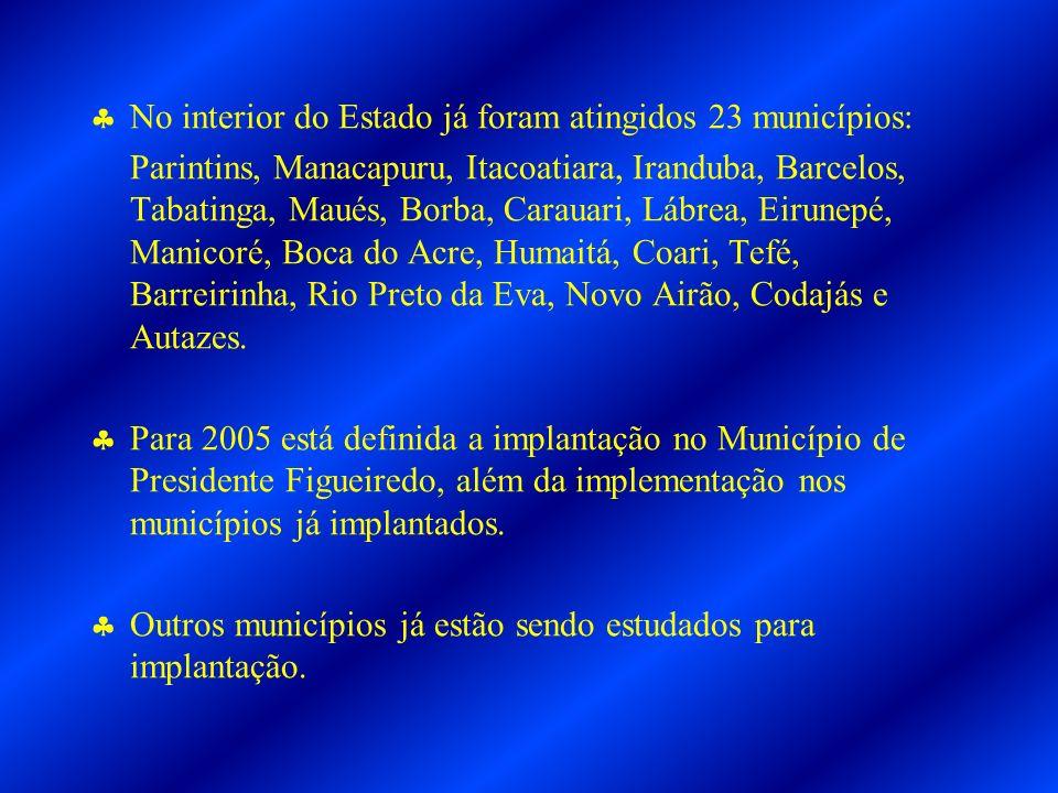 No interior do Estado já foram atingidos 23 municípios: