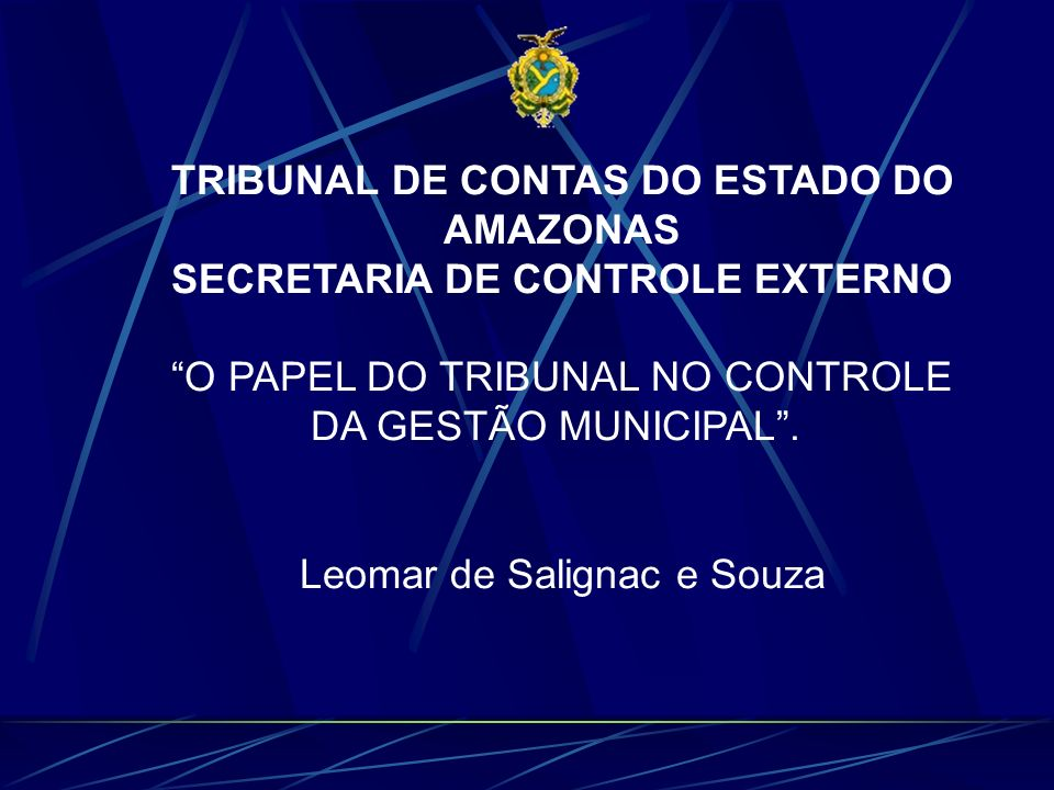 TRIBUNAL DE CONTAS DO ESTADO DO AMAZONAS