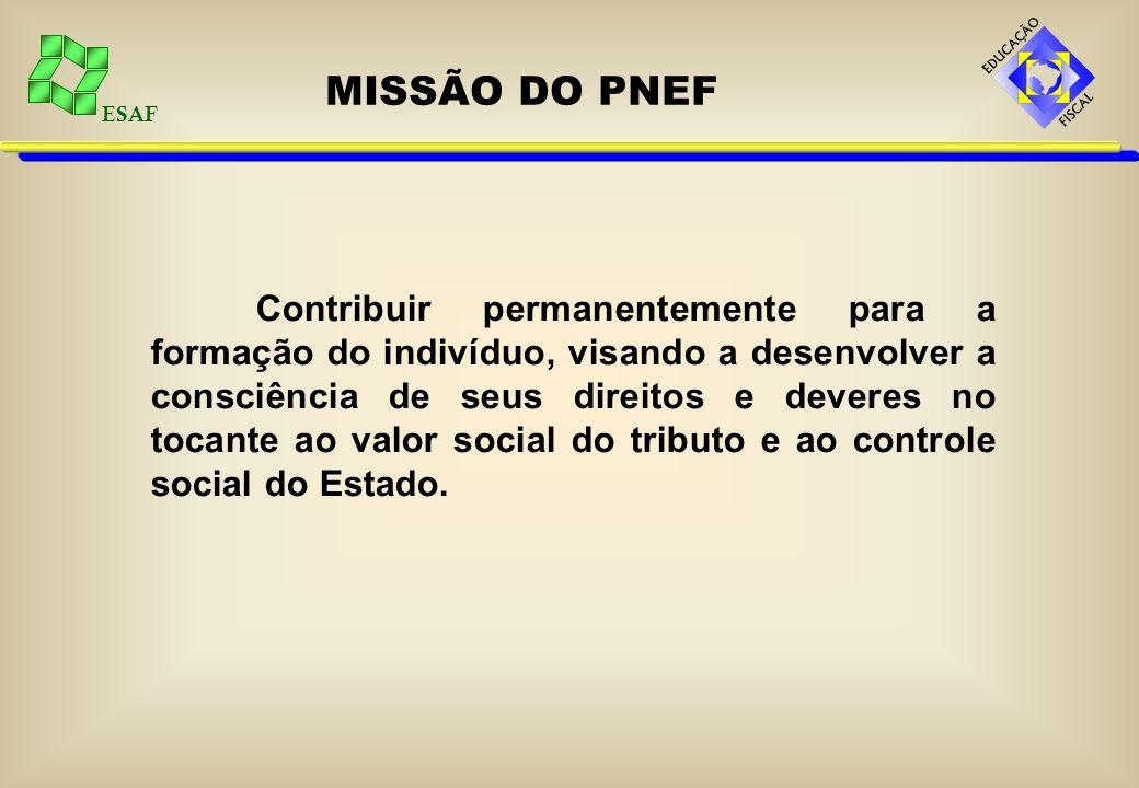 MISSÃO DO PNEF