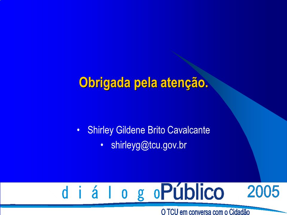 Shirley Gildene Brito Cavalcante shirleyg@tcu.gov.br