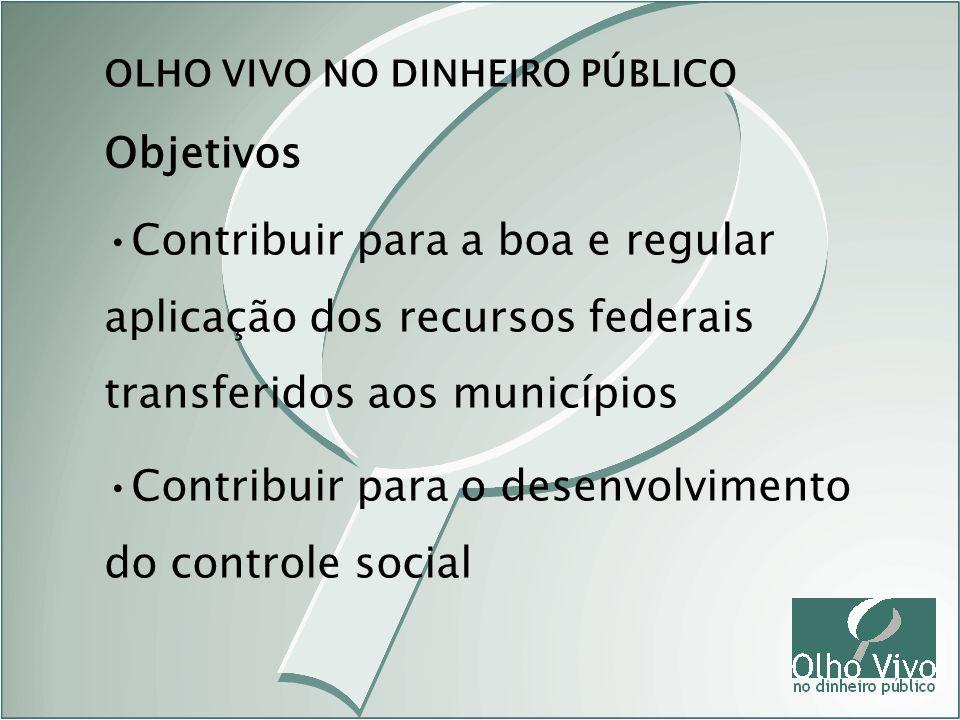 Contribuir para o desenvolvimento do controle social
