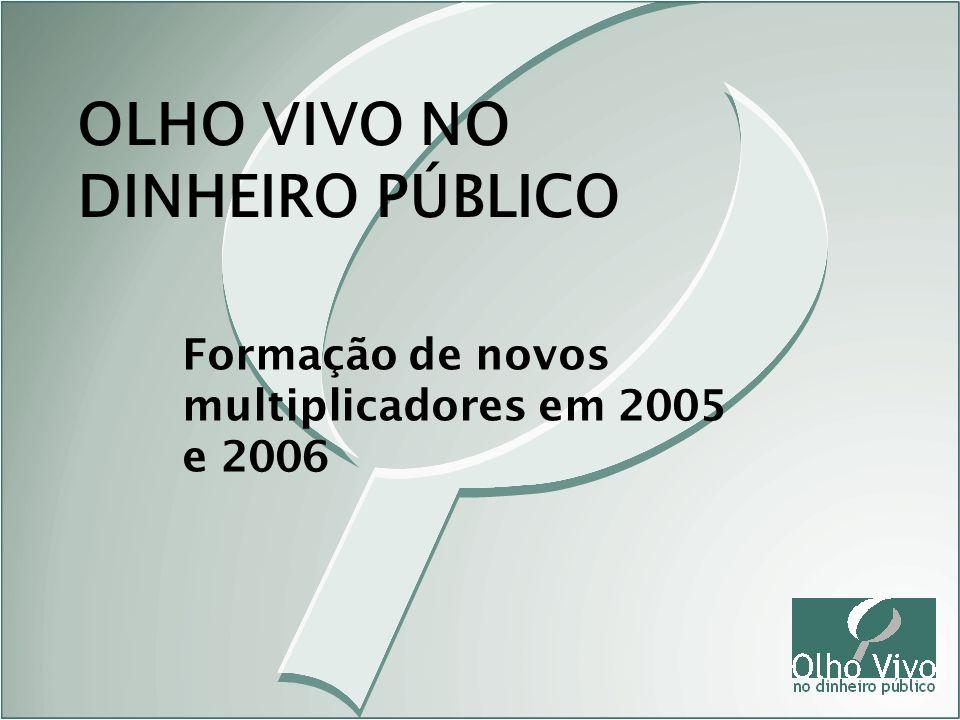 OLHO VIVO NO DINHEIRO PÚBLICO
