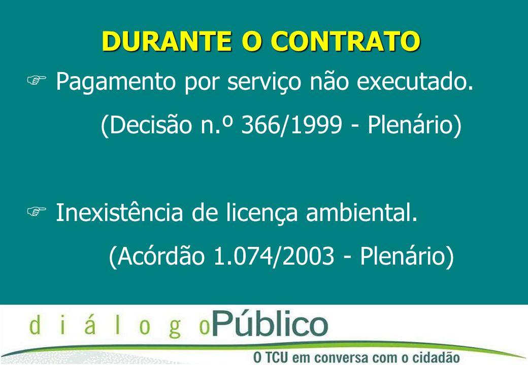 (Decisão n.º 366/1999 - Plenário)