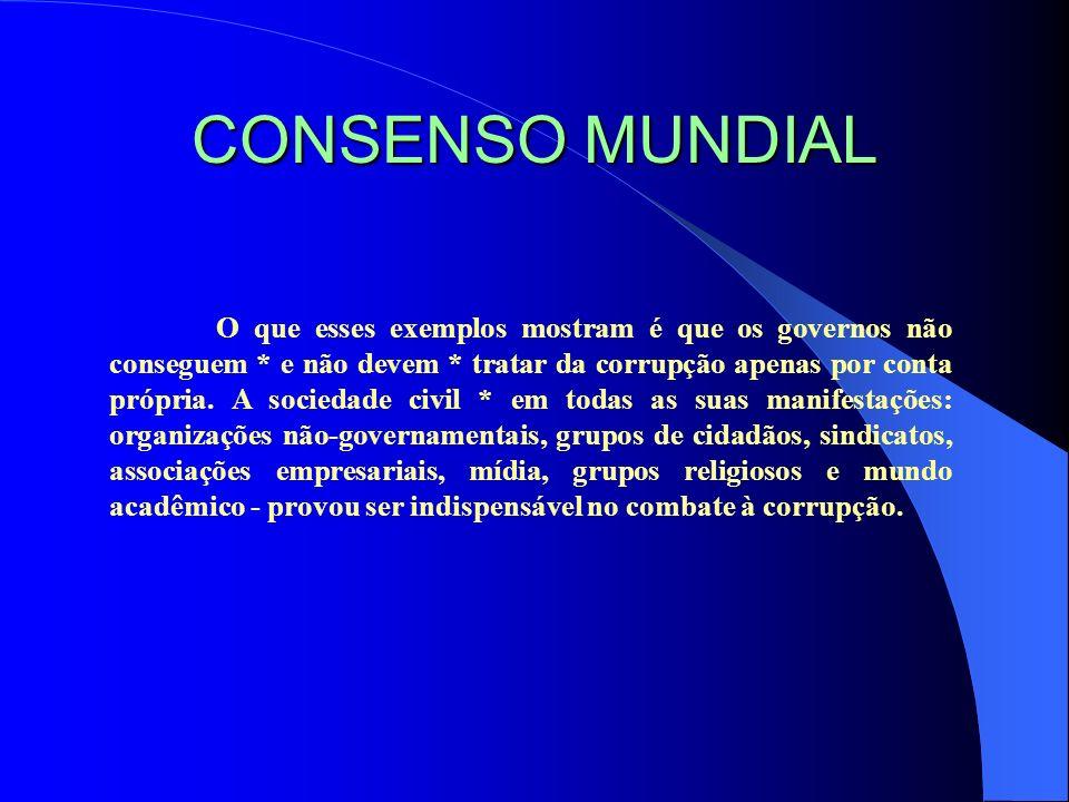 CONSENSO MUNDIAL
