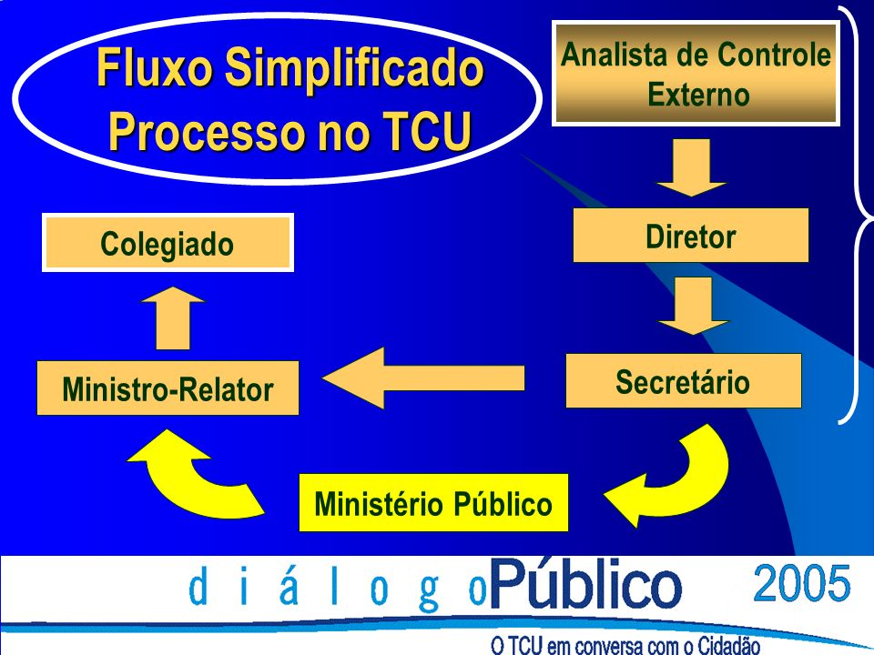 Fluxo Simplificado Processo no TCU