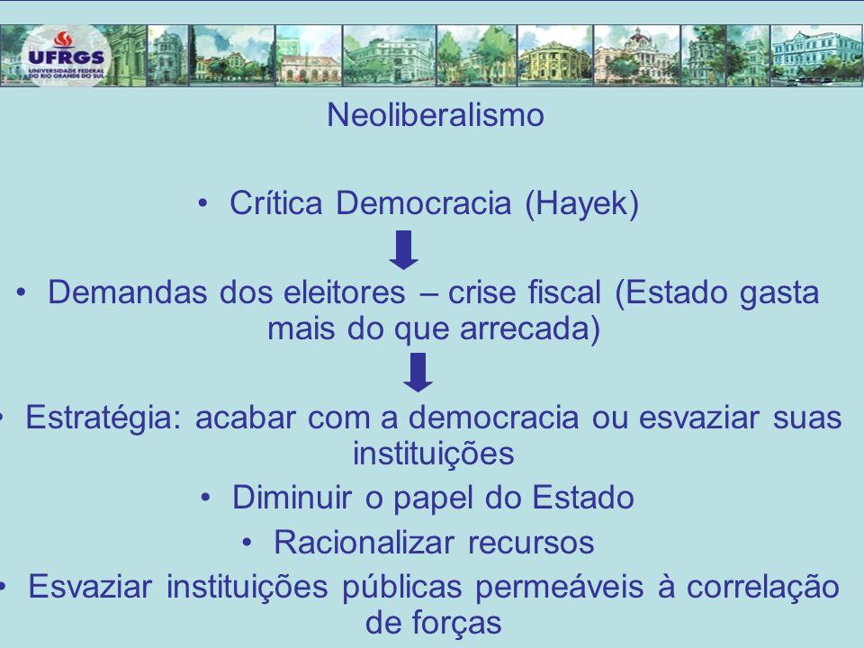 Crítica Democracia (Hayek)