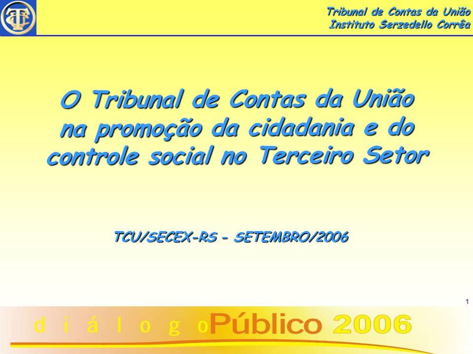 TCU/SECEX-RS - SETEMBRO/2006