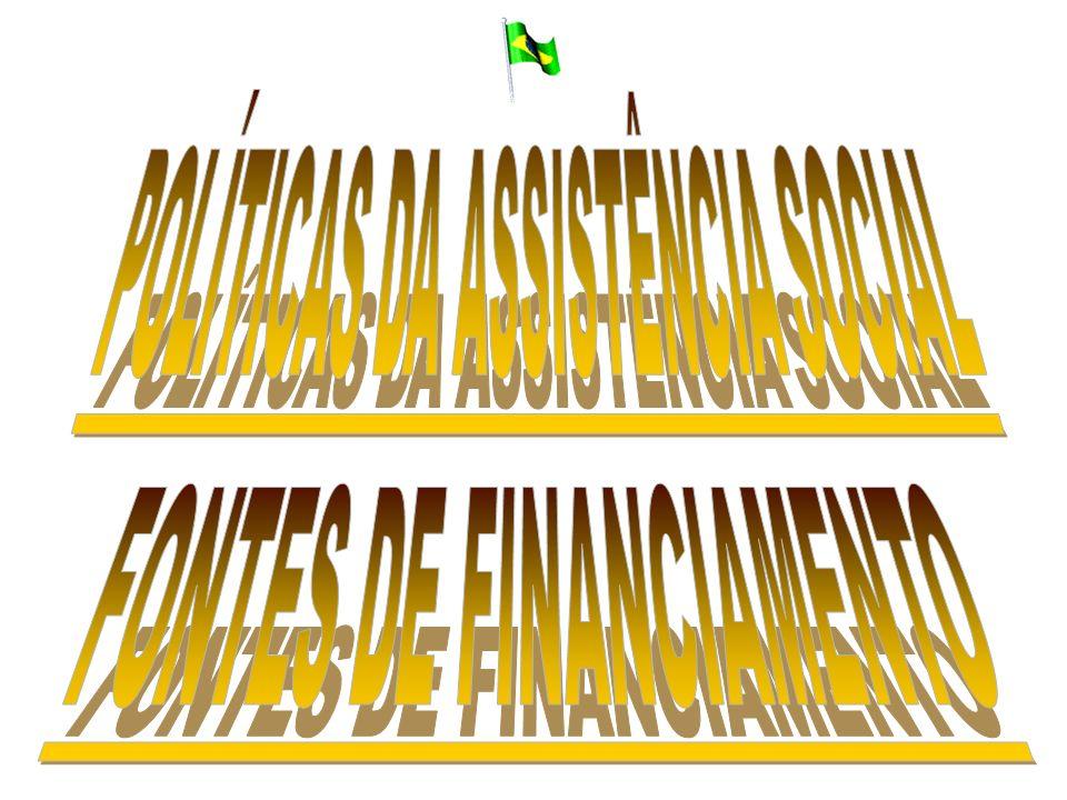POLÍTICAS DA ASSISTÊNCIA SOCIAL
