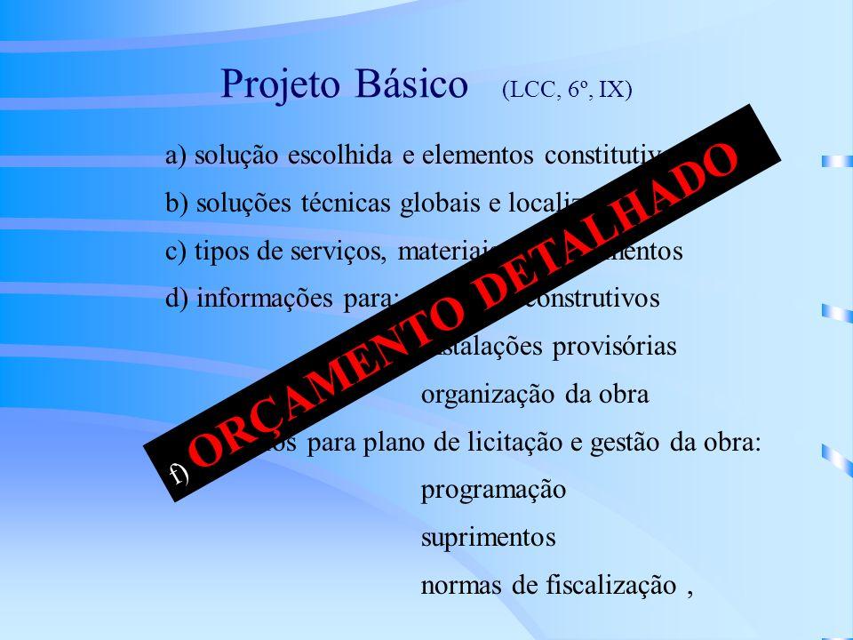 Projeto Básico (LCC, 6º, IX)