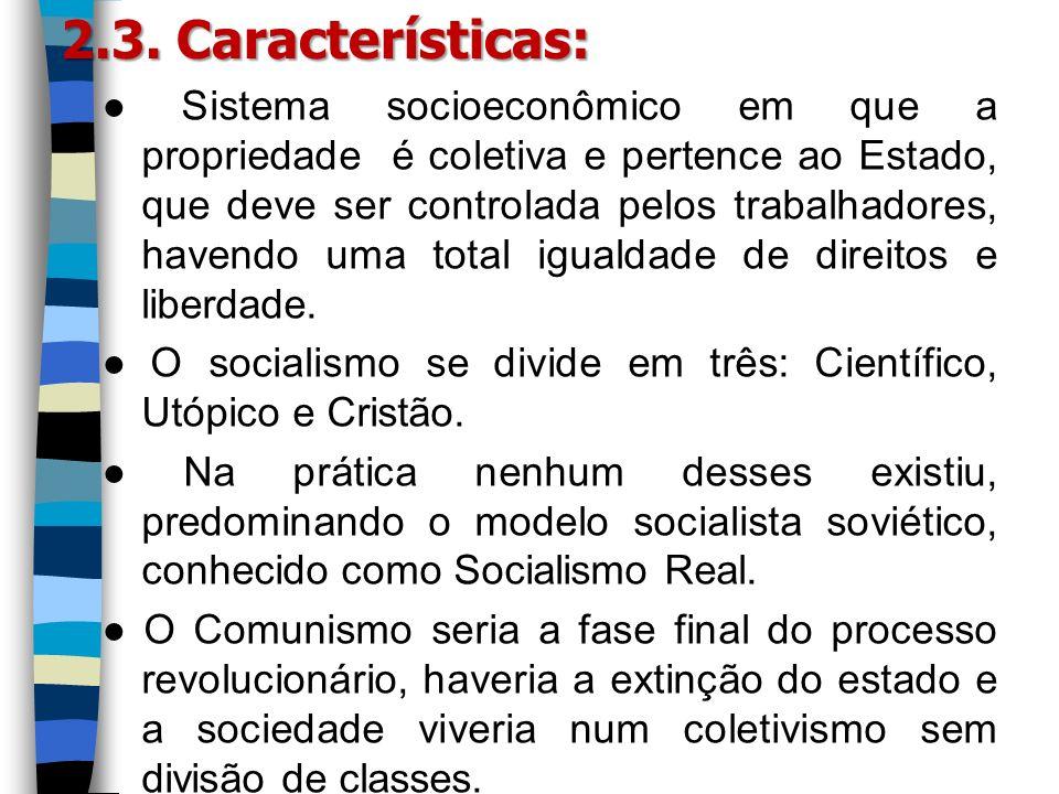 2.3. Características: