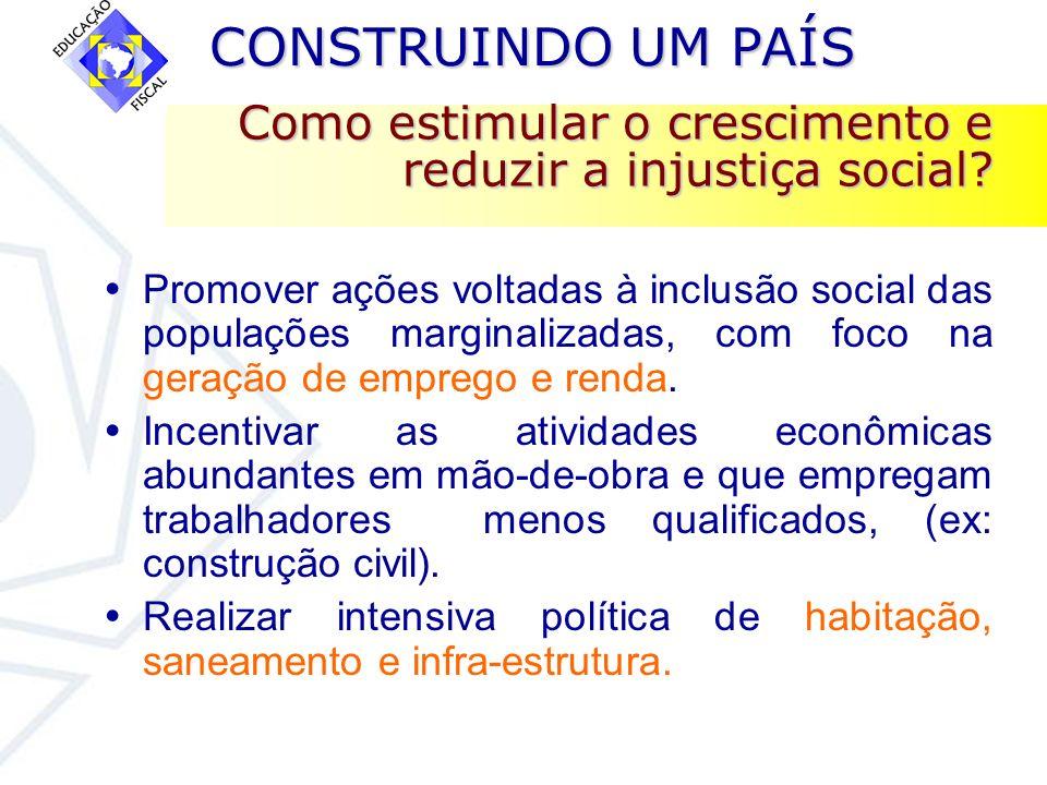 Como estimular o crescimento e reduzir a injustiça social