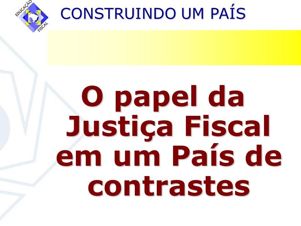 O papel da Justiça Fiscal em um País de contrastes