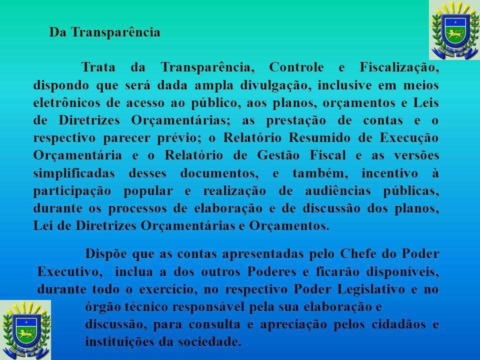 Da Transparência