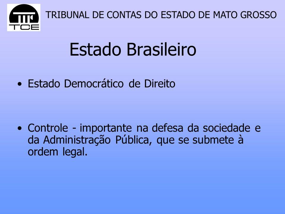 Estado Brasileiro Estado Democrático de Direito