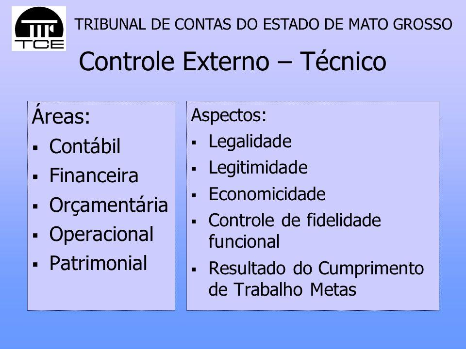 Controle Externo – Técnico