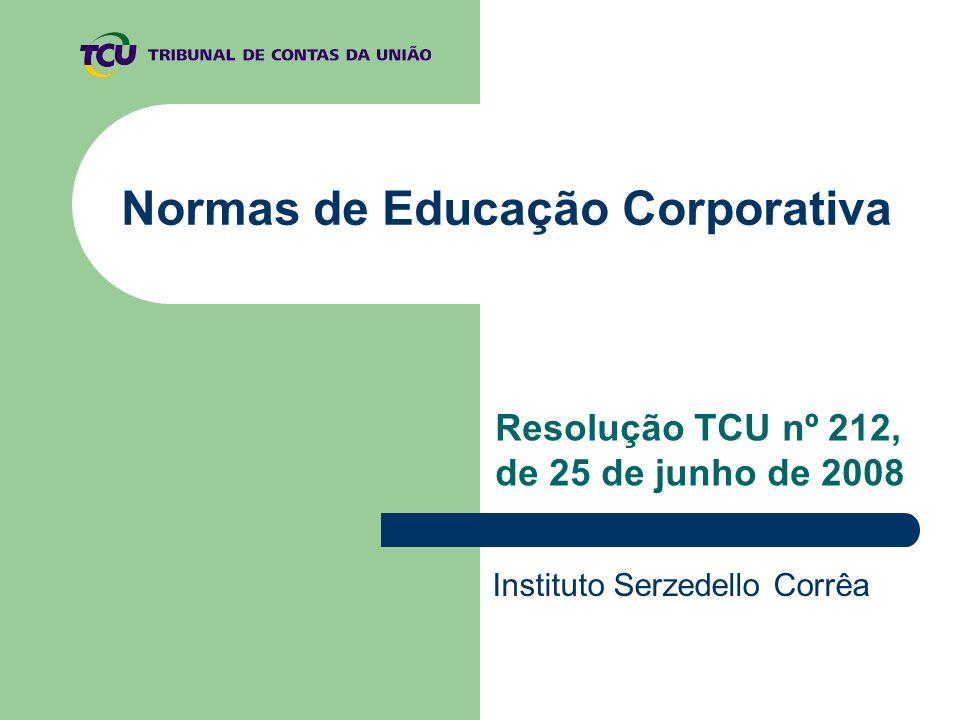 Normas de Educação Corporativa