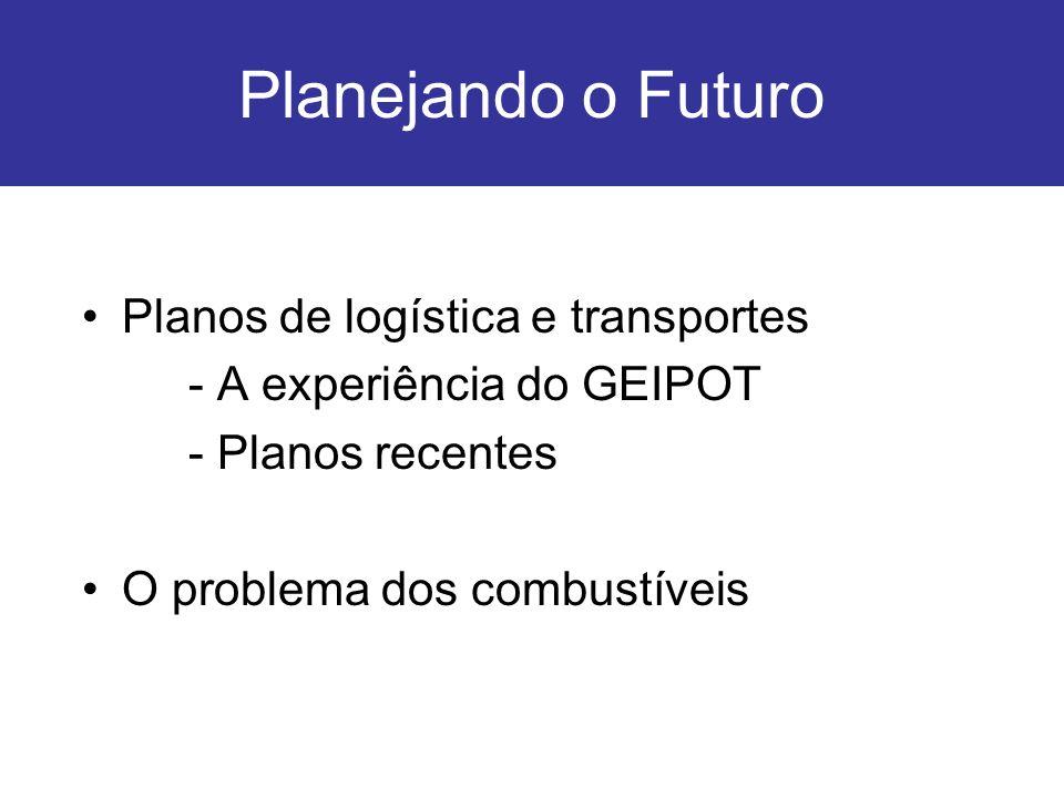 Planejando o Futuro Planos de logística e transportes