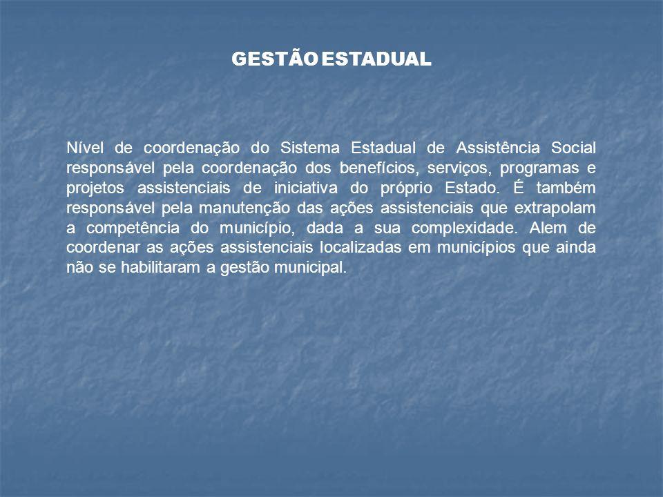 GESTÃO ESTADUAL