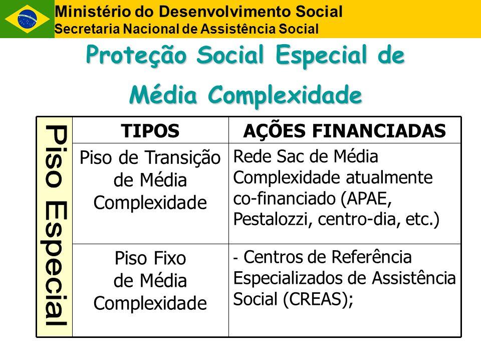 Proteção Social Especial de