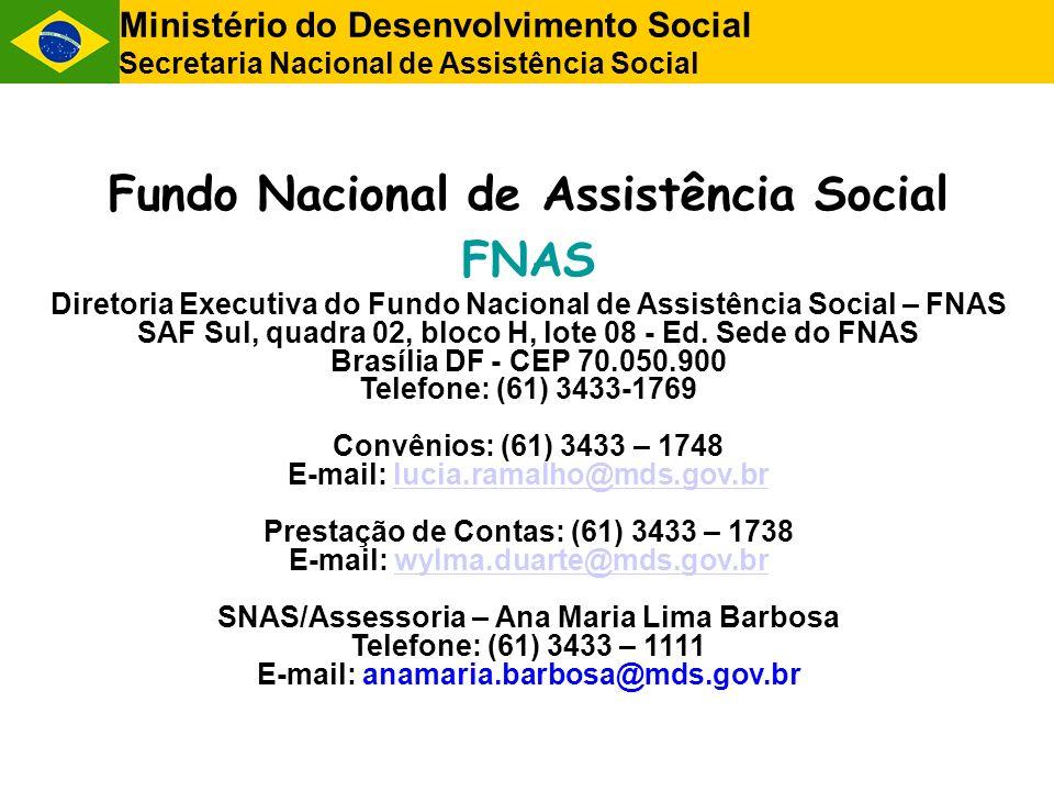 Fundo Nacional de Assistência Social FNAS