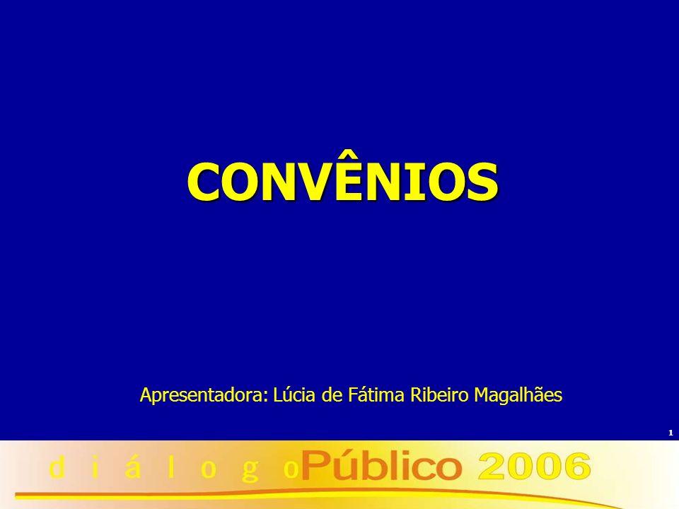Apresentadora: Lúcia de Fátima Ribeiro Magalhães
