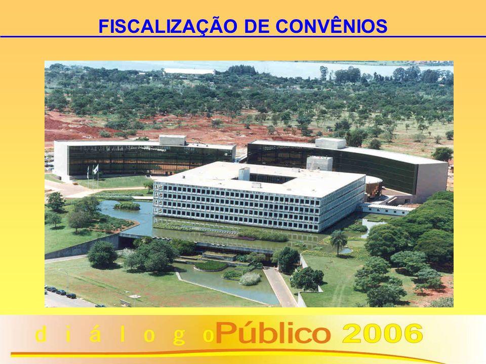 FISCALIZAÇÃO DE CONVÊNIOS