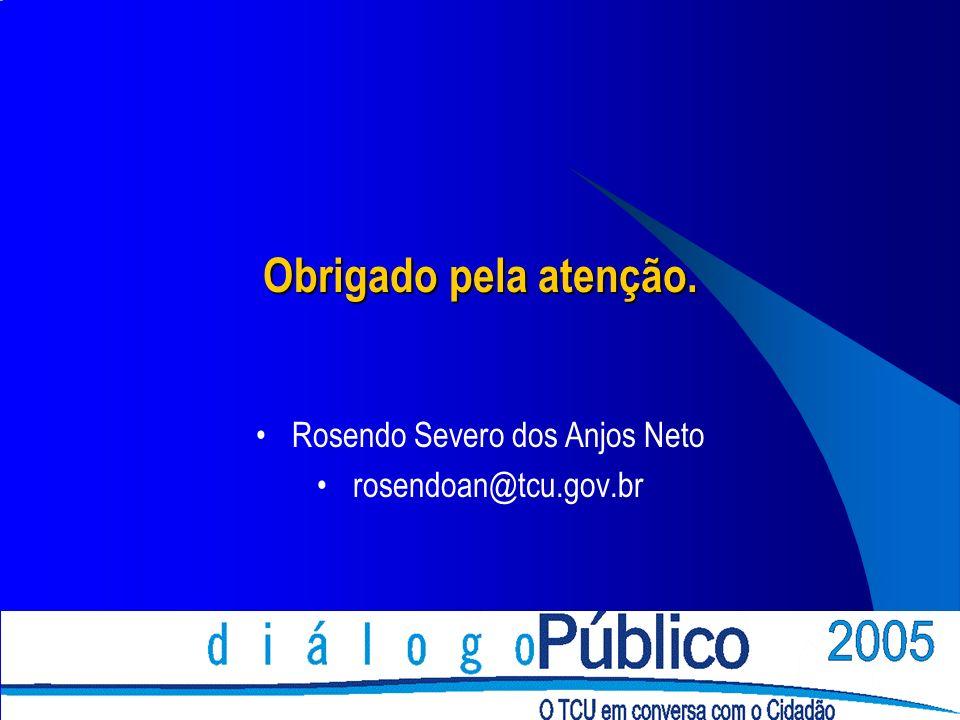 Rosendo Severo dos Anjos Neto rosendoan@tcu.gov.br