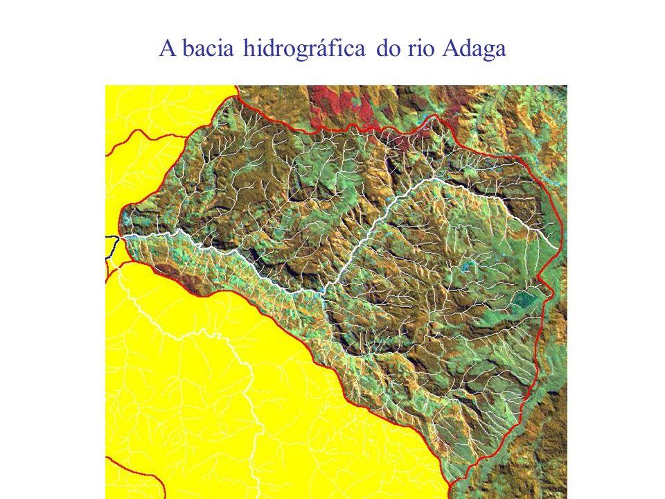 A bacia hidrográfica do rio Adaga