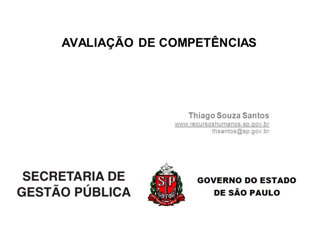AVALIAÇÃO DE COMPETÊNCIAS
