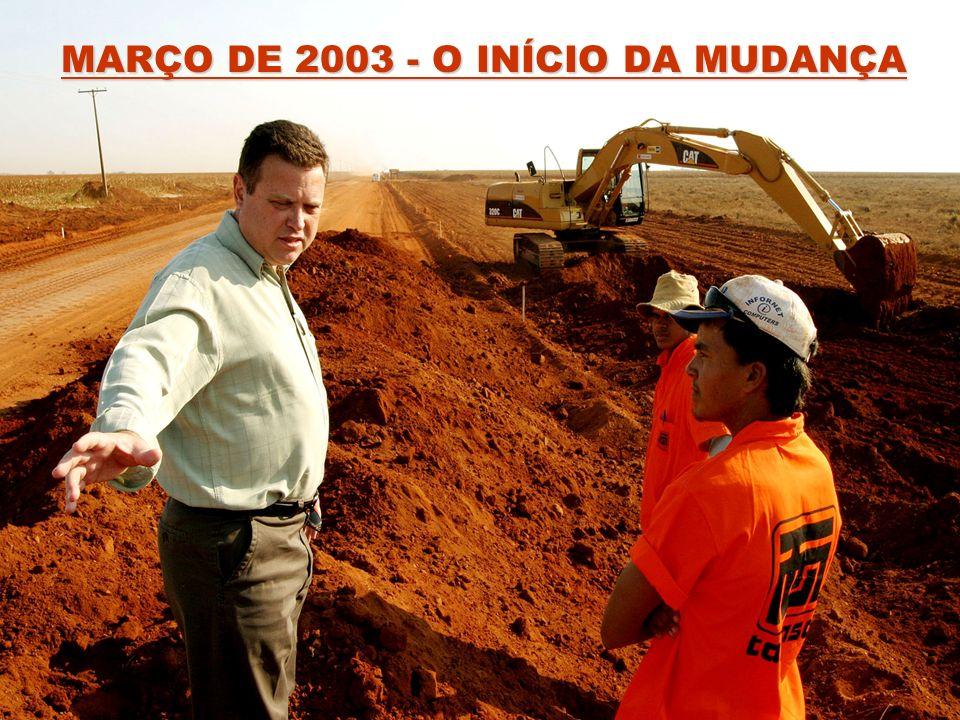 MARÇO DE 2003 - O INÍCIO DA MUDANÇA