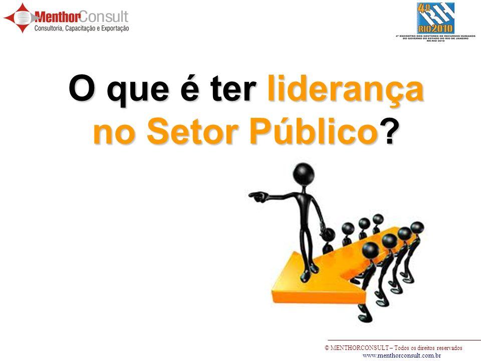 O que é ter liderança no Setor Público