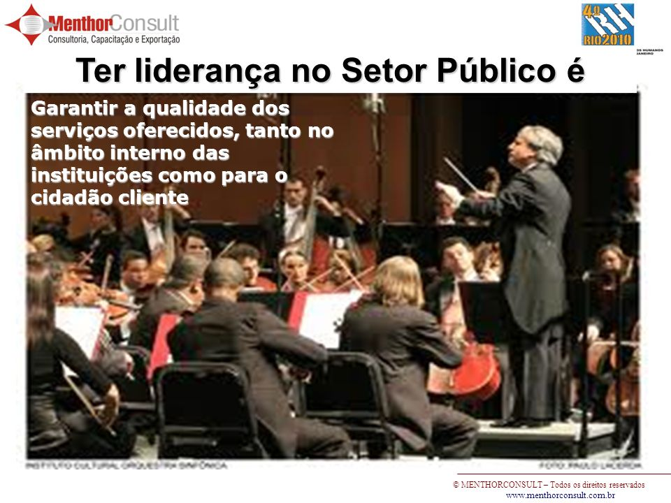 Ter liderança no Setor Público é