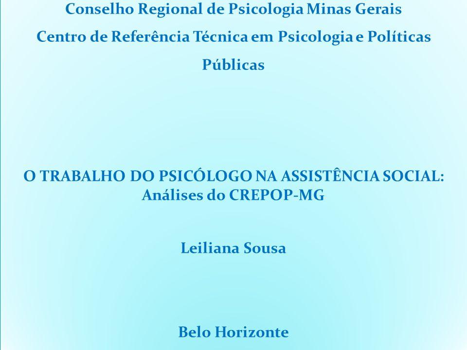 Conselho Regional de Psicologia Minas Gerais