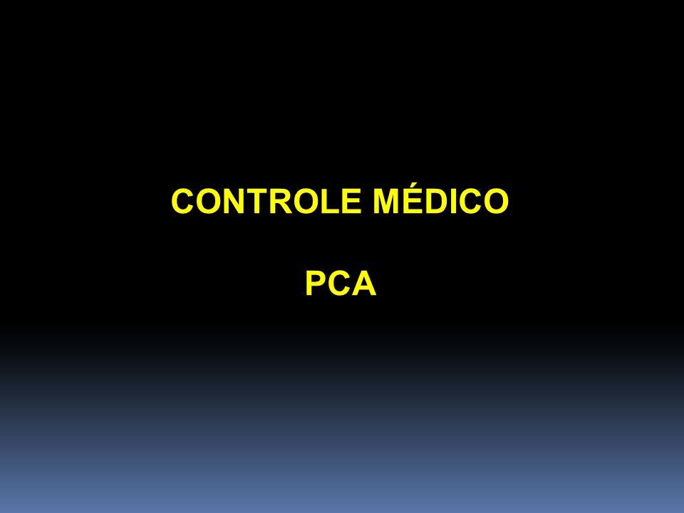 CONTROLE MÉDICO PCA