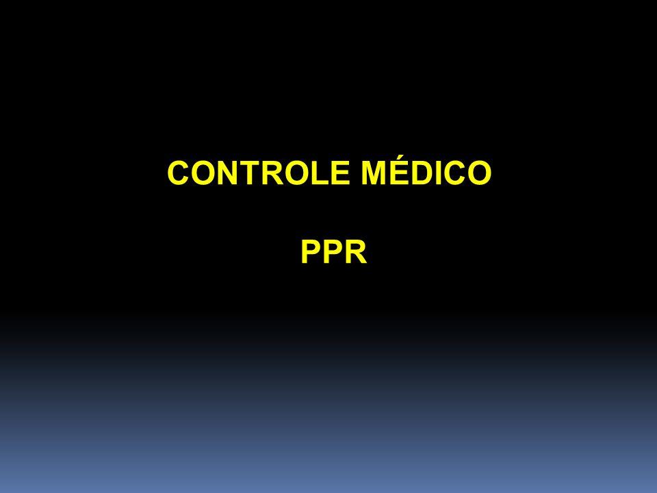 CONTROLE MÉDICO PPR