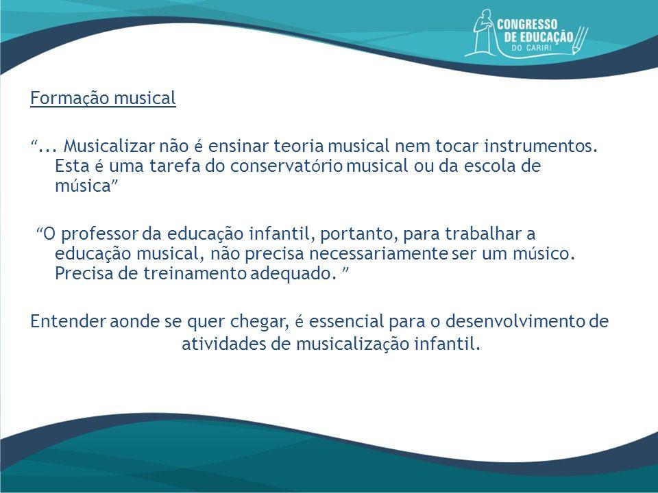 Formação musical