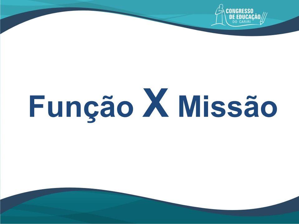 Função X Missão