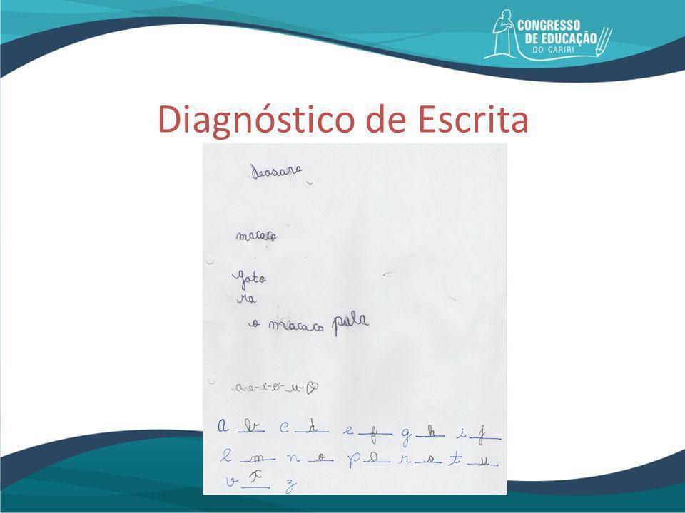Diagnóstico de Escrita