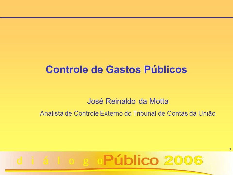 Controle de Gastos Públicos