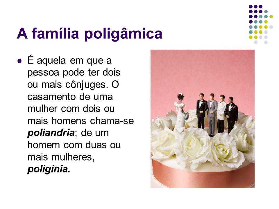A família poligâmica