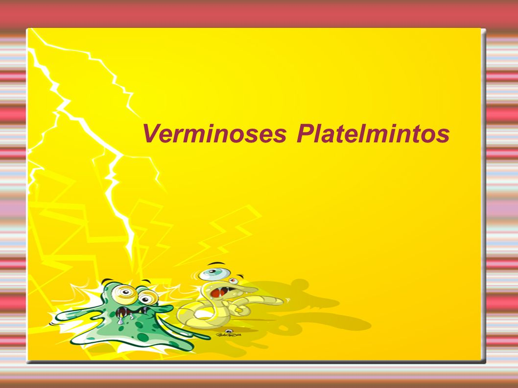 Verminoses Platelmintos