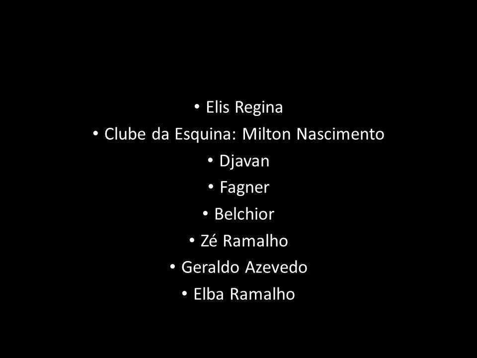 Clube da Esquina: Milton Nascimento