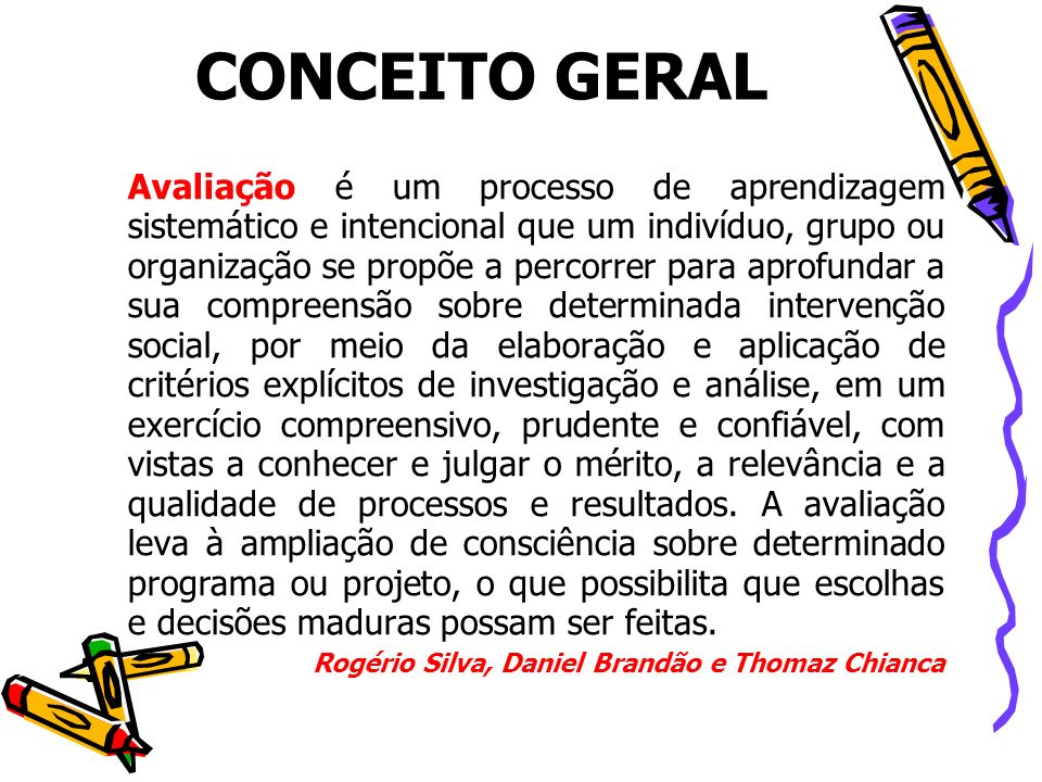 CONCEITO GERAL